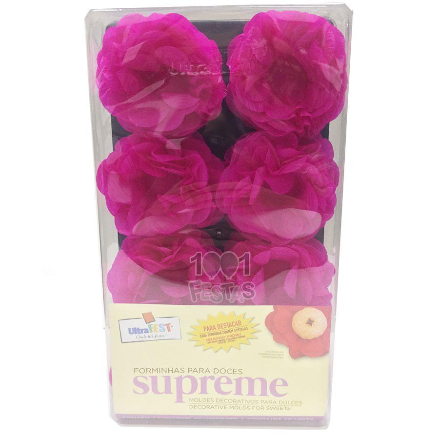 Forminha Supreme Crepom 40 unid Pink Ultrafest
