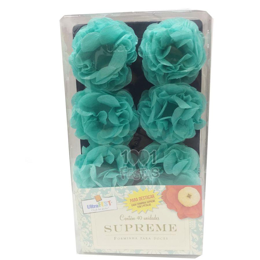 Forminha Supreme Crepom 40 unid Tiffany
