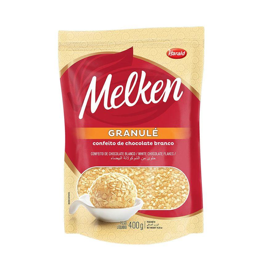 Granulé Melken Chocolate Branco 400g