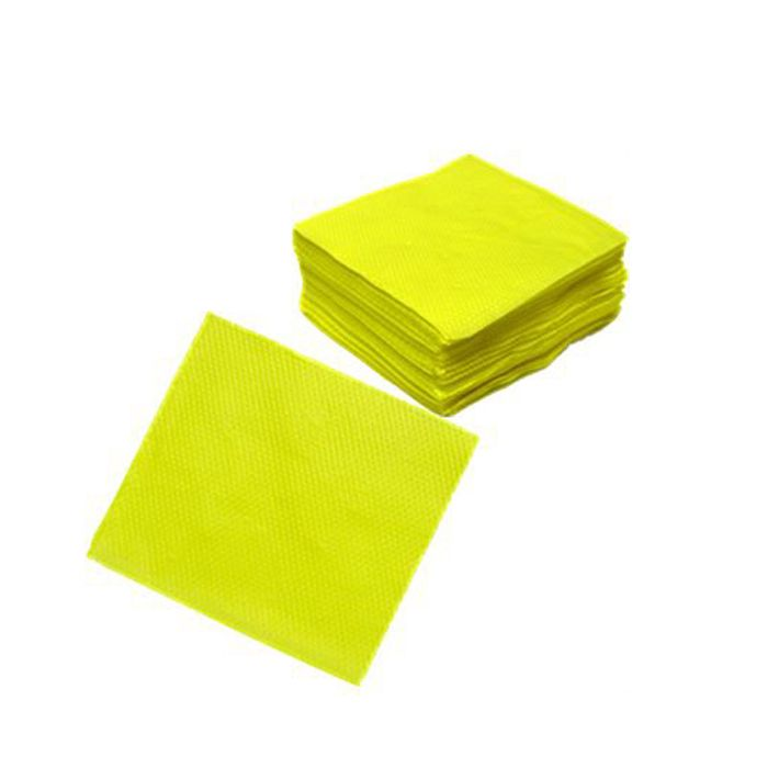 Guardanapo 20cm x 23cm 50 unid Amarelo Vipel