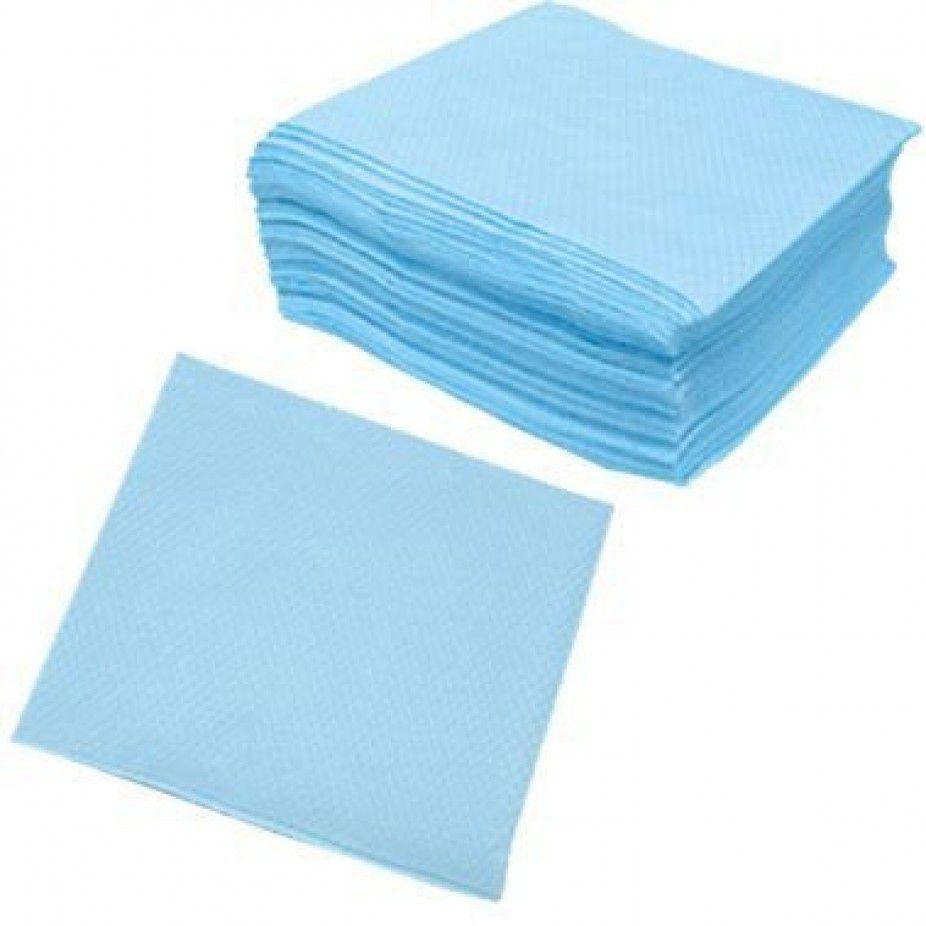 Guardanapo 20cm x 23cm 50 unid Azul Claro Vipel