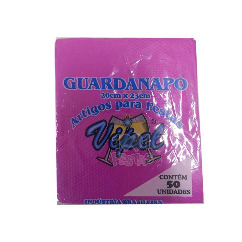 Guardanapo 20cm x 23cm 50 unid Pink Vipel