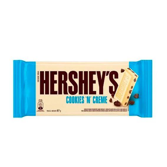 Hershey's Chocolate Branco Cookies 'N' Creme 87g