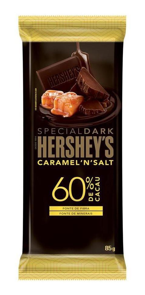 Hershey's Special Dark Caramel'N' Salt 60% Cacau 85g