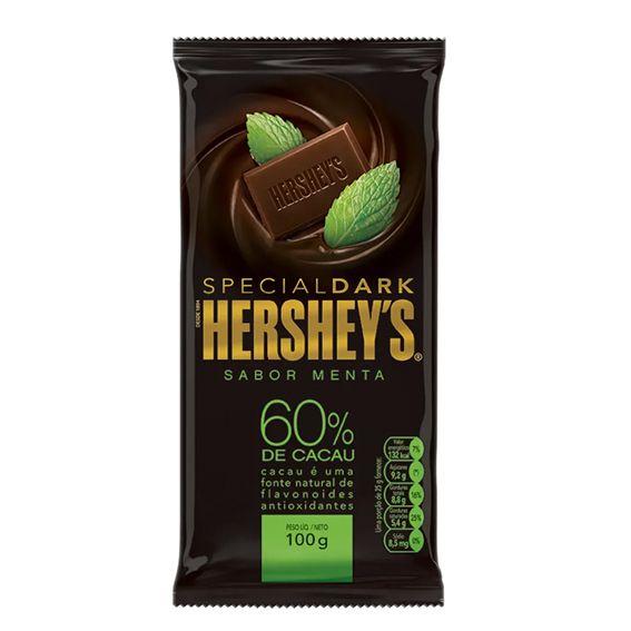 Hershey's Special Dark Sabor Menta 60% Cacau 100g