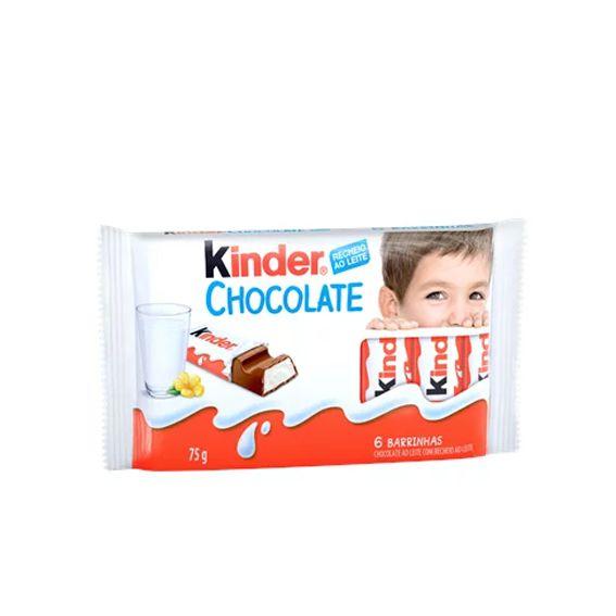 Kinder Chocolate Ao Leite 75g