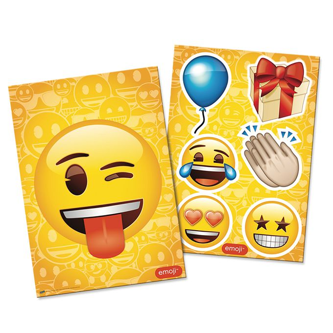 Kit Decorativo Emoji Festcolor