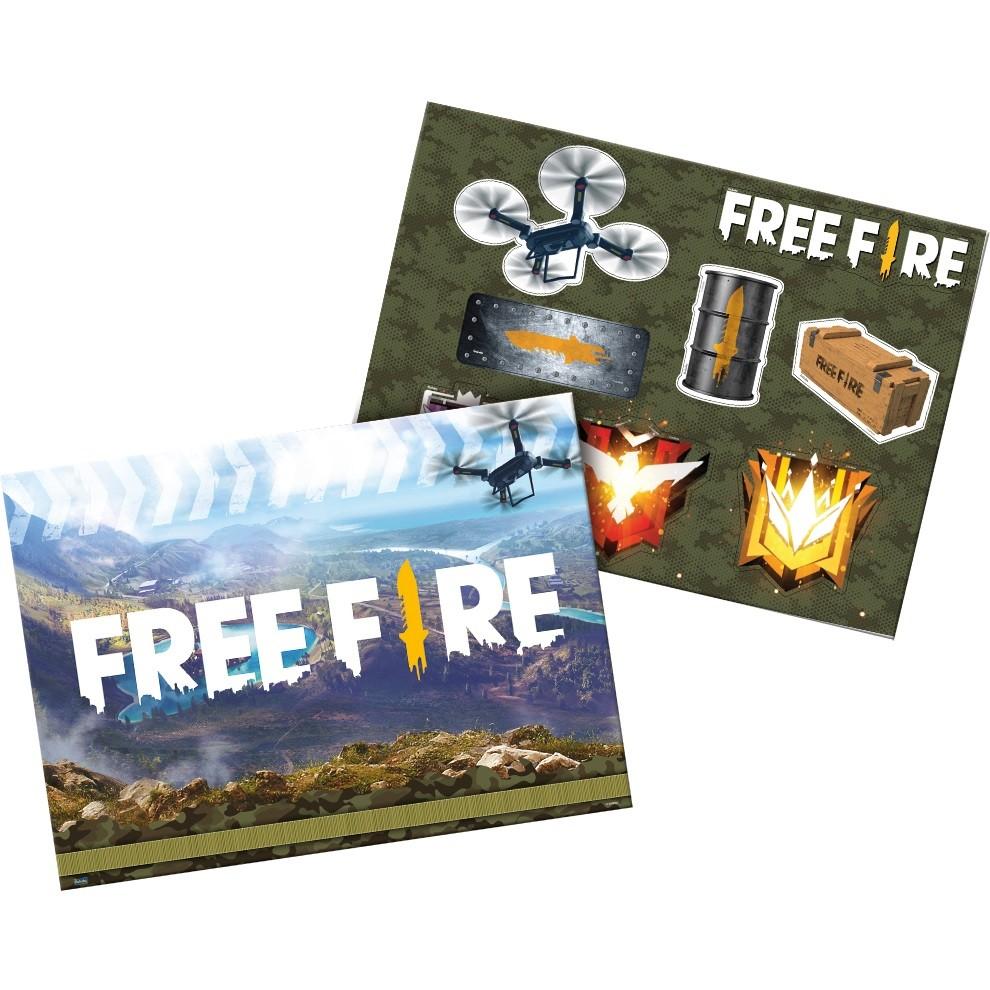 Kit Decorativo Free Fire Festcolor