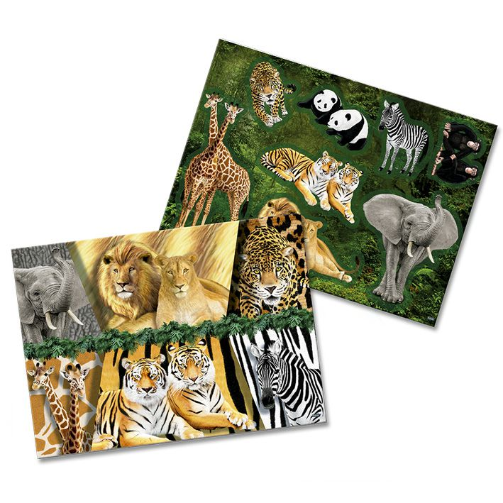 Kit Decorativo Mundo Animal Festcolor