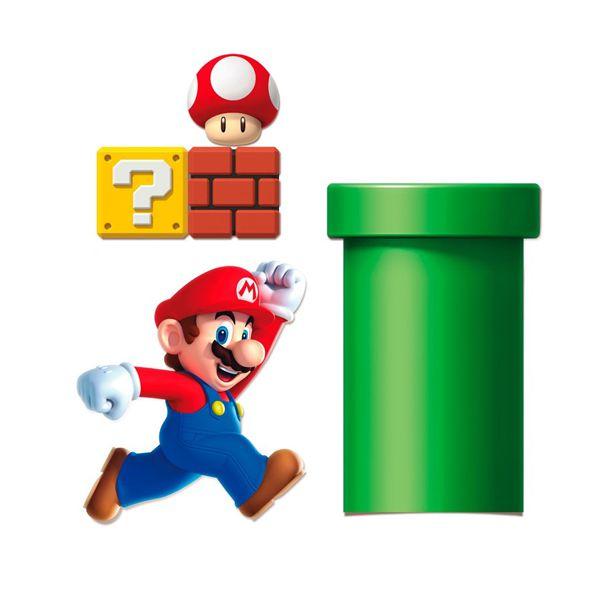 Kit Decorativo Super Mario Cromus