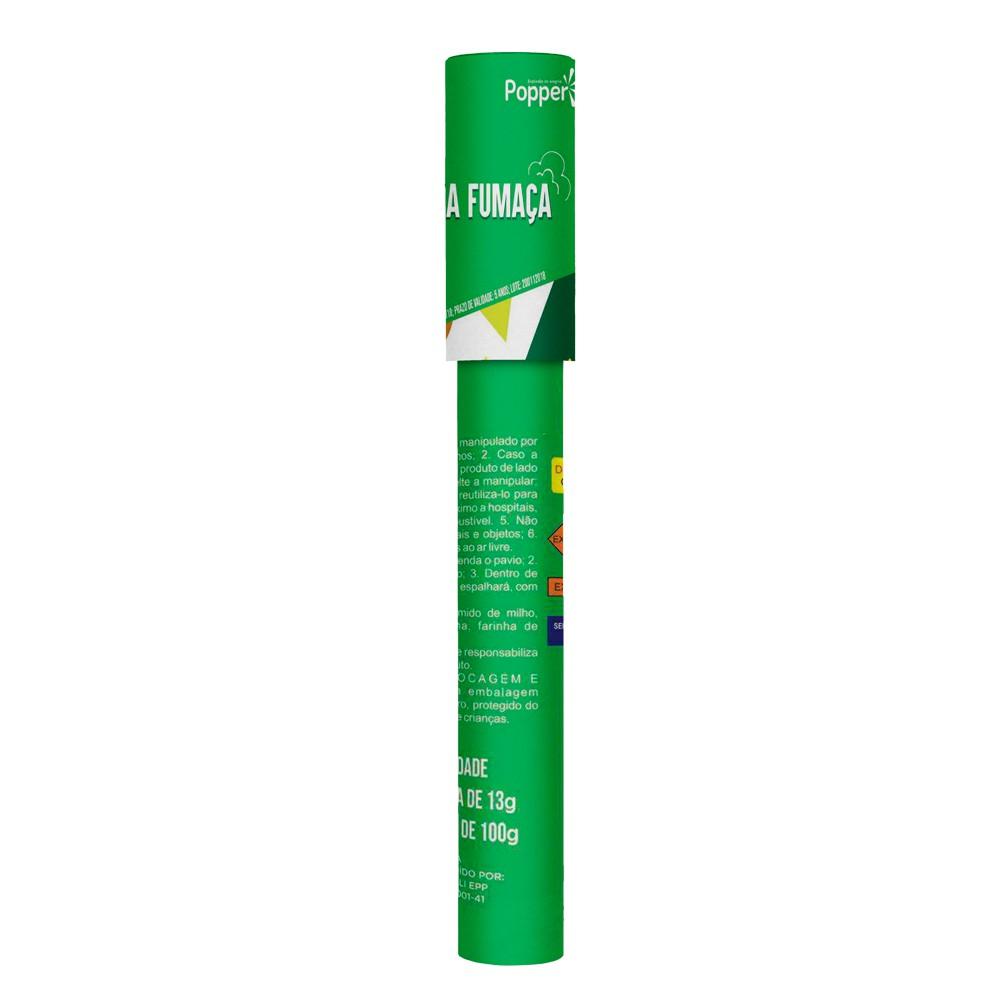 Lança Fumaça Verde Popper