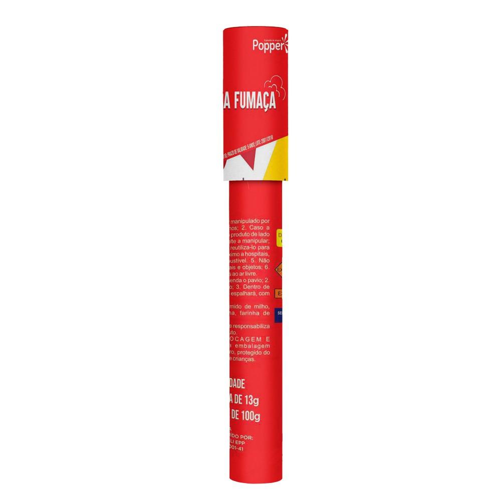Lança Fumaça Vermelho Popper