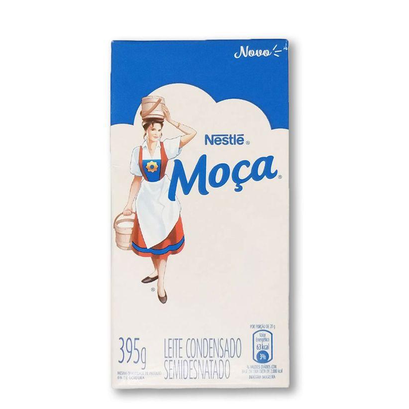Leite Condensado Semidesnatado Moça Nestlé 395g