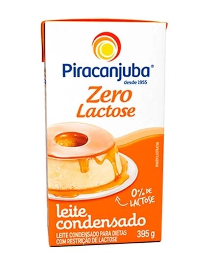 Leite Condensado Zero Lactose 395g Piracanjuba