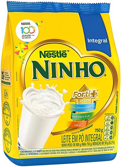 Leite em Pó Ninho integral Nestlé 750g
