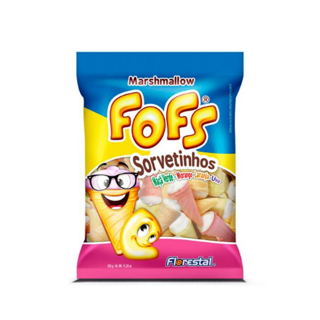 Marshmallow 160g Sorvetinhos Fofs Florestal