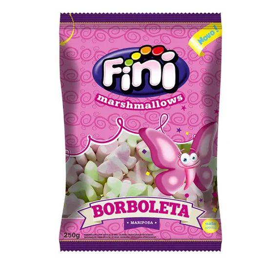Marshmallow 250g Borboleta Fini