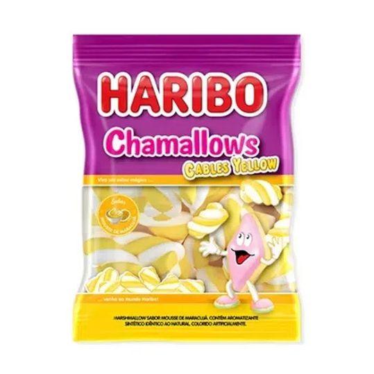 Marshmallow 250g Cables Twist Amarelo Haribo