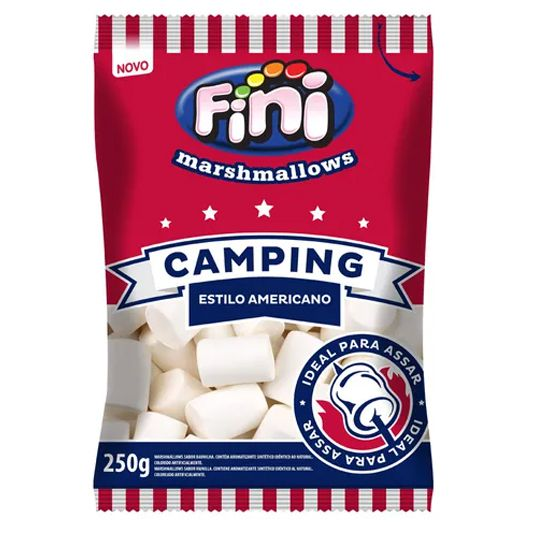 Marshmallow 250g Camping Fini