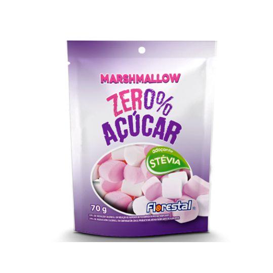 Marshmallow 70g Zero Açúcar Stevia Florestal