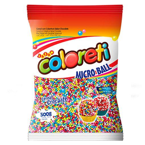 Micro Ball  Colorido Coloreti Jazam 500g
