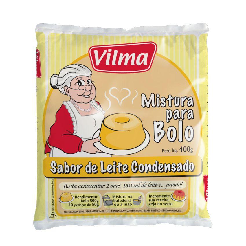 Mistura Bolo Leite Condensado 400g  Vilma