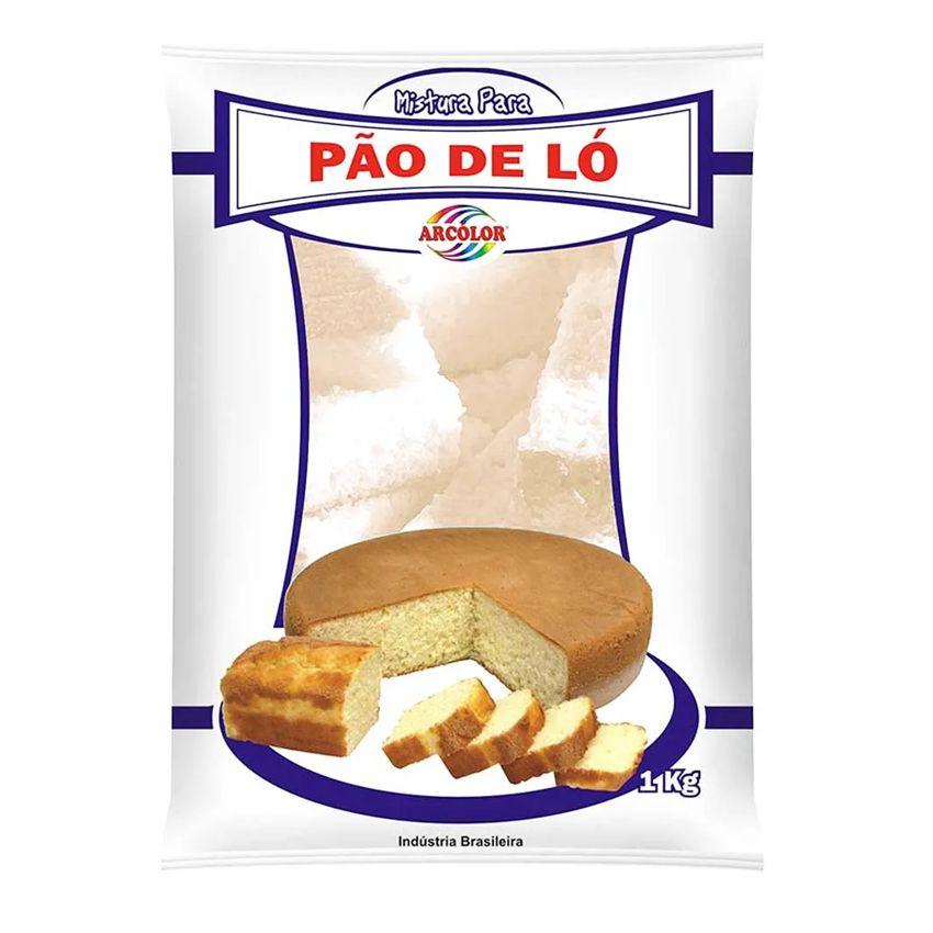 Mistura para Pão de Ló Neutro 1kg  Arcólor