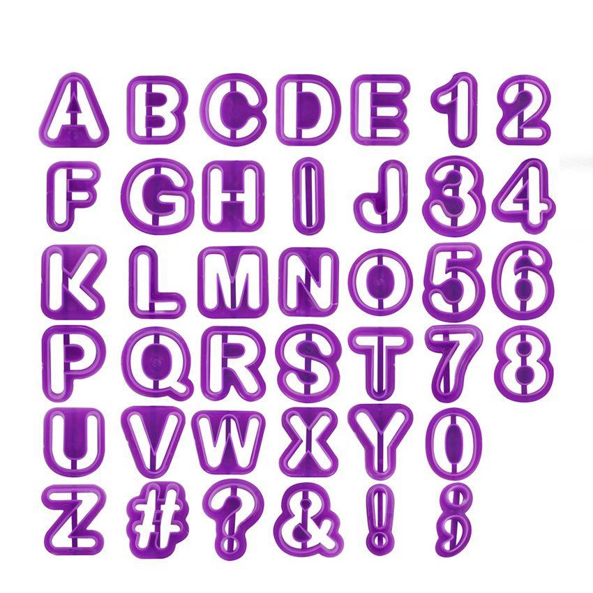 Moldes Letras e Números C/40 Carol Fiorentino