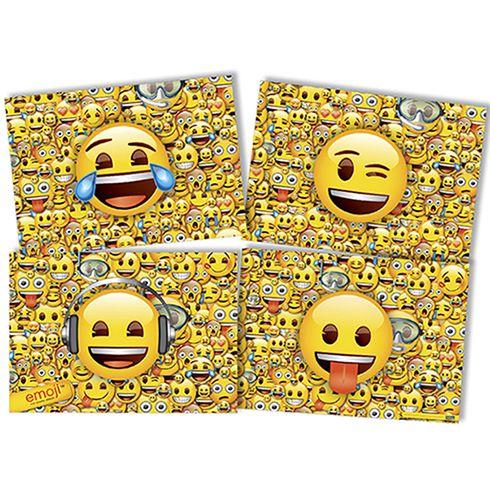 Painel 4 Lâminas Emoji Festcolor