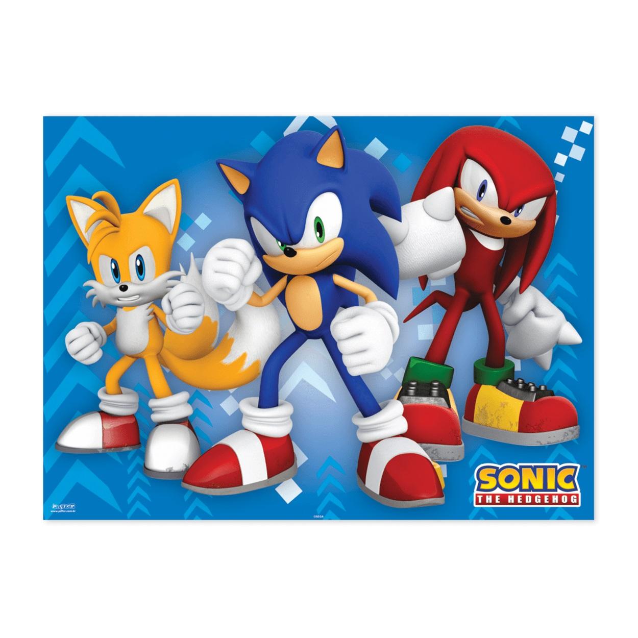 Painel Grande T.N.T Sonic 1,40m x 1,03m c1 unid Piffer