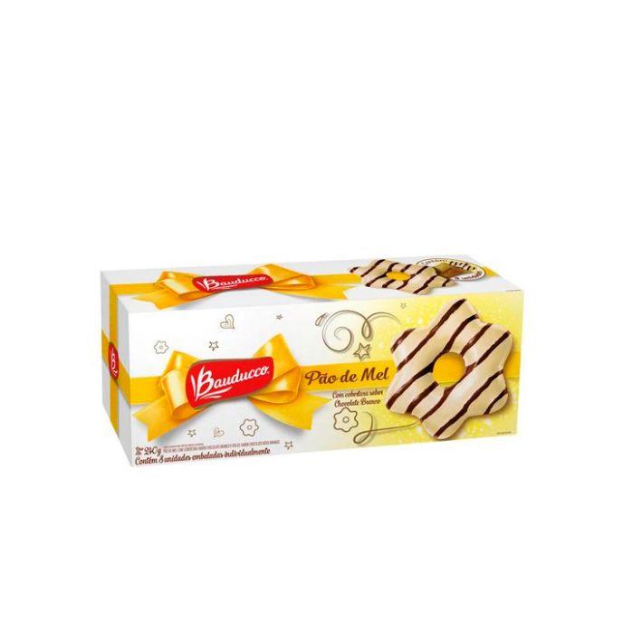 Pão de Mel Chocolate Branco 240g Bauducco