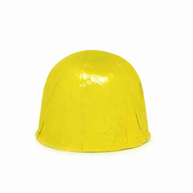 Papel Alumínio Amarelo 9,8 x 9,8 cm 300 unid. Embale