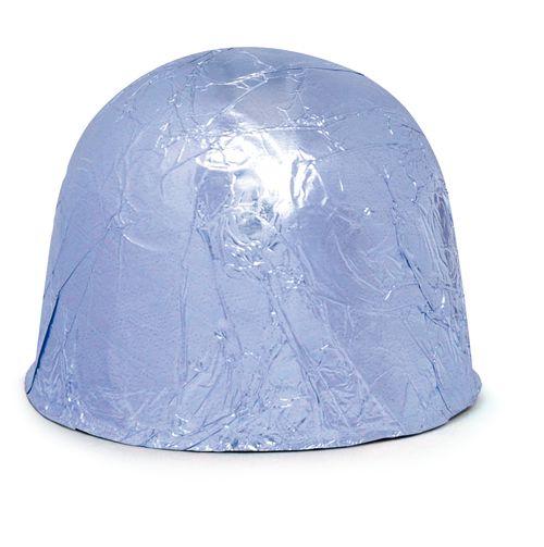 Papel Alumínio Azul Claro 11,8 x 11,8 cm 300 unid. Embale
