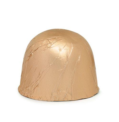 Papel Alumínio Ouro Fosco 9,8cm x 9,8cm com 300 unid. Embale