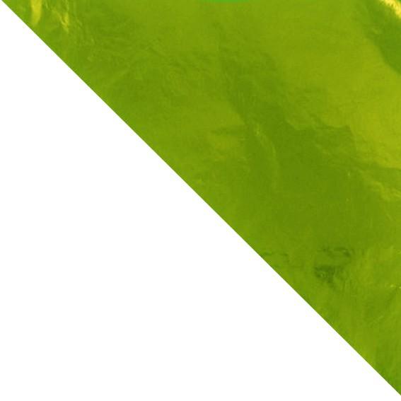 Papel Chumbo Verde Cítrico 43,5cm x 59cm 03 unid Cromus