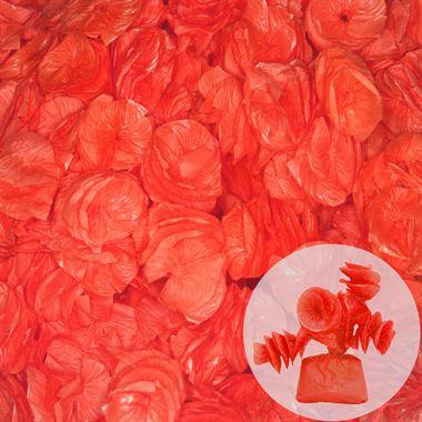 Papel de Bala Caracol Vermelho 40 unid Real Seda