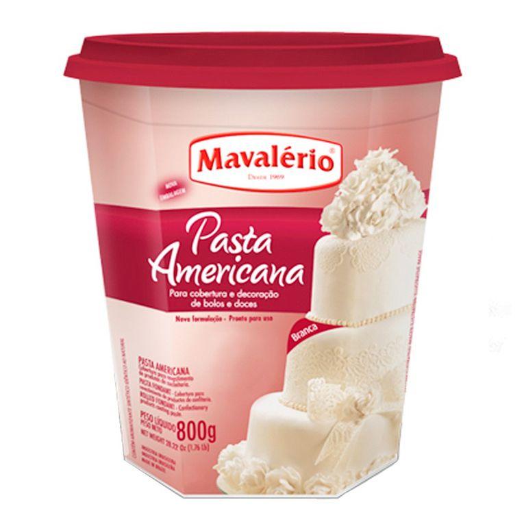 Pasta Americana Branca Mavalério 800g