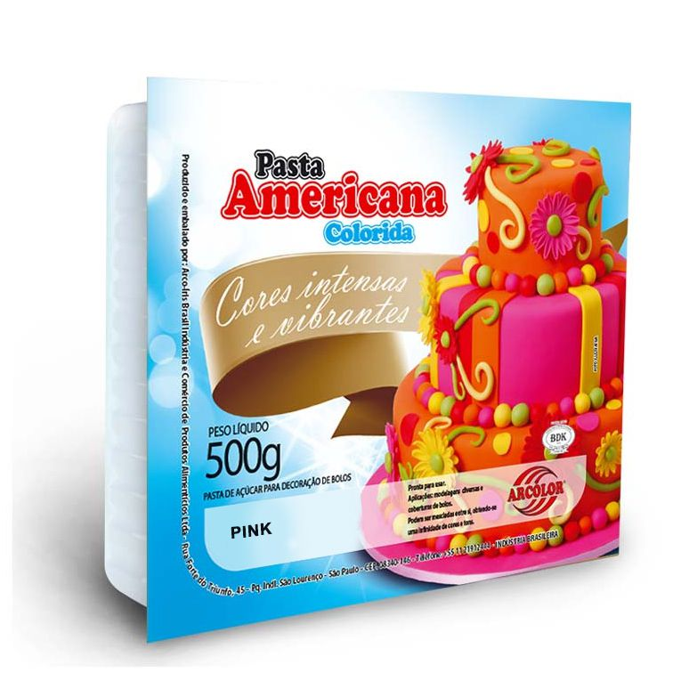 Pasta Americana Pink Arcolor 500g