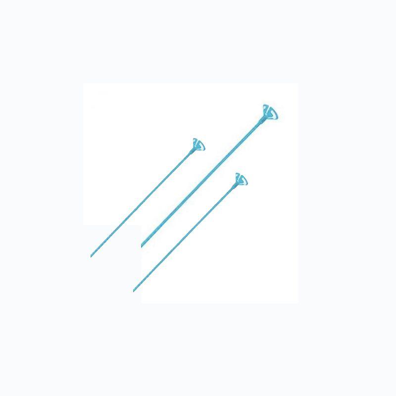 Pega Balão 28cm Azul Claro 10 unid KLF Festas