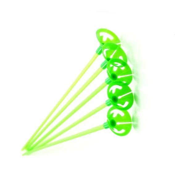 Pega Balão 33cm Verde Neon 10 unid KLF Festas