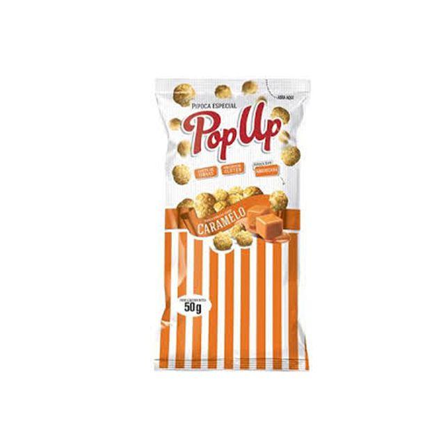 Pipoca Pop Up Caramelo 50g