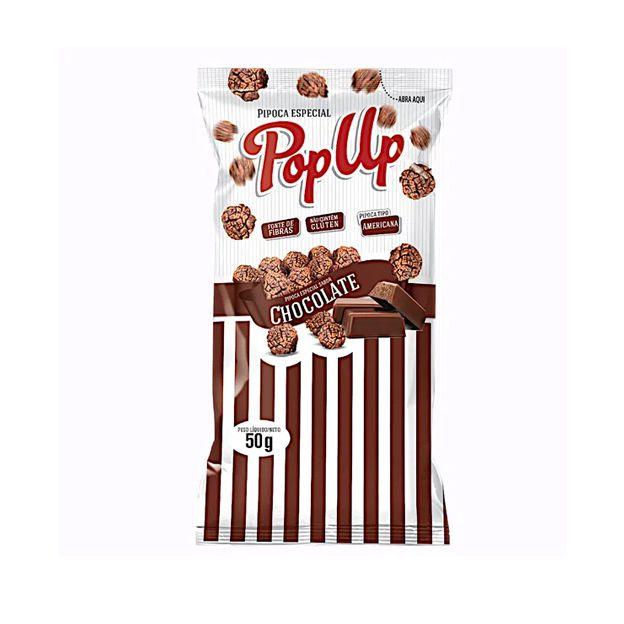 Pipoca Pop Up Chocolate 50g