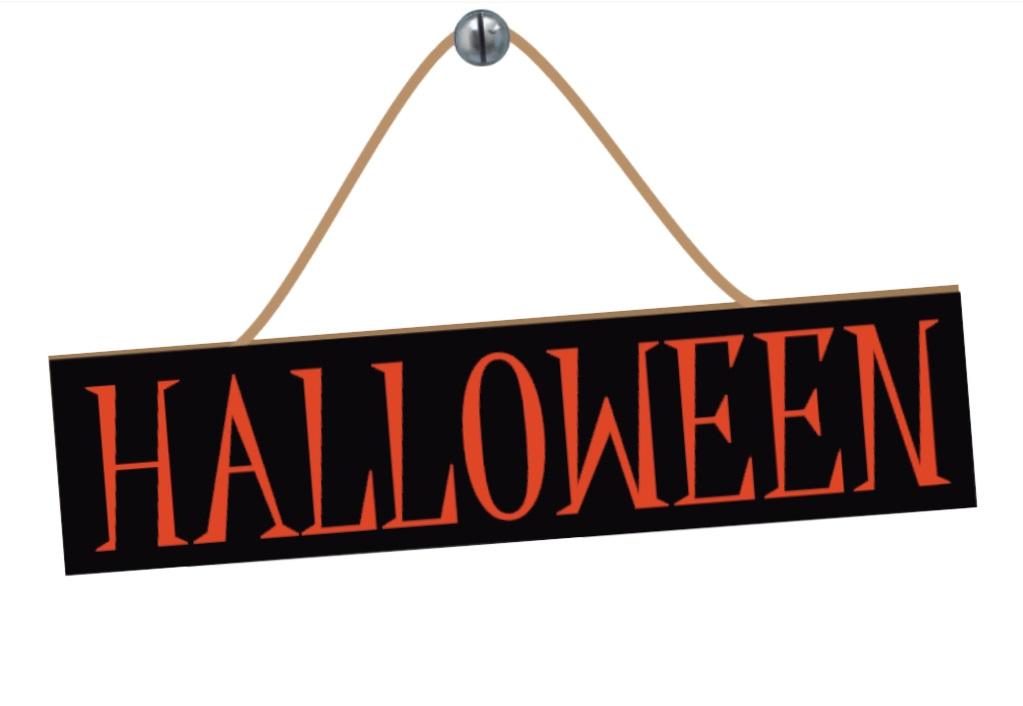 Placa Halloween Grintoy