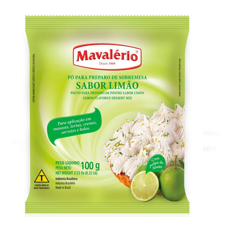 Pó Preparo de Sobremesa  Limão Mavalério 100g