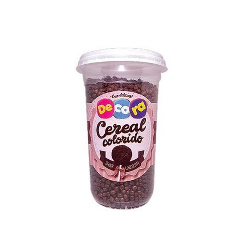 Pote Micro Cereal Chocolate 150g Decora