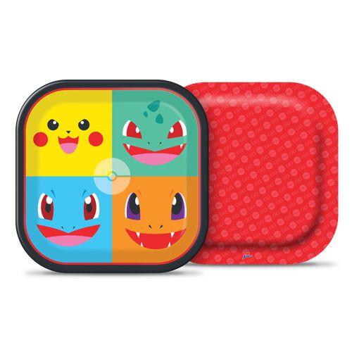 Prato de Papel  Pocket  Monsters  C 08 unid Quadrado Junco
