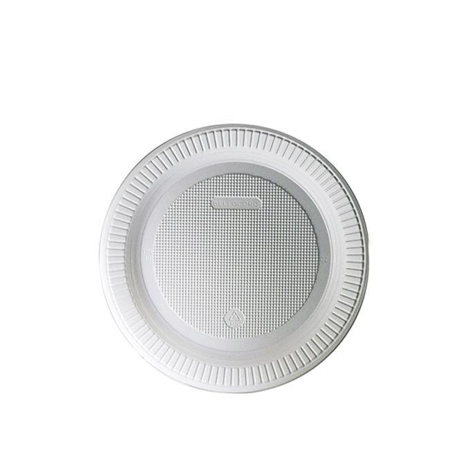 Prato Raso Branco 15cm 10 unid Bello Copo Festas