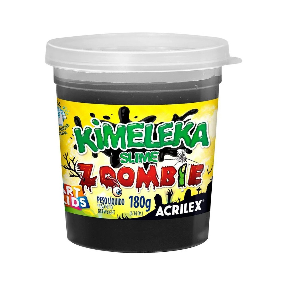 Slime Kimeleka Zoombie C 01 unid 180g Acrilex