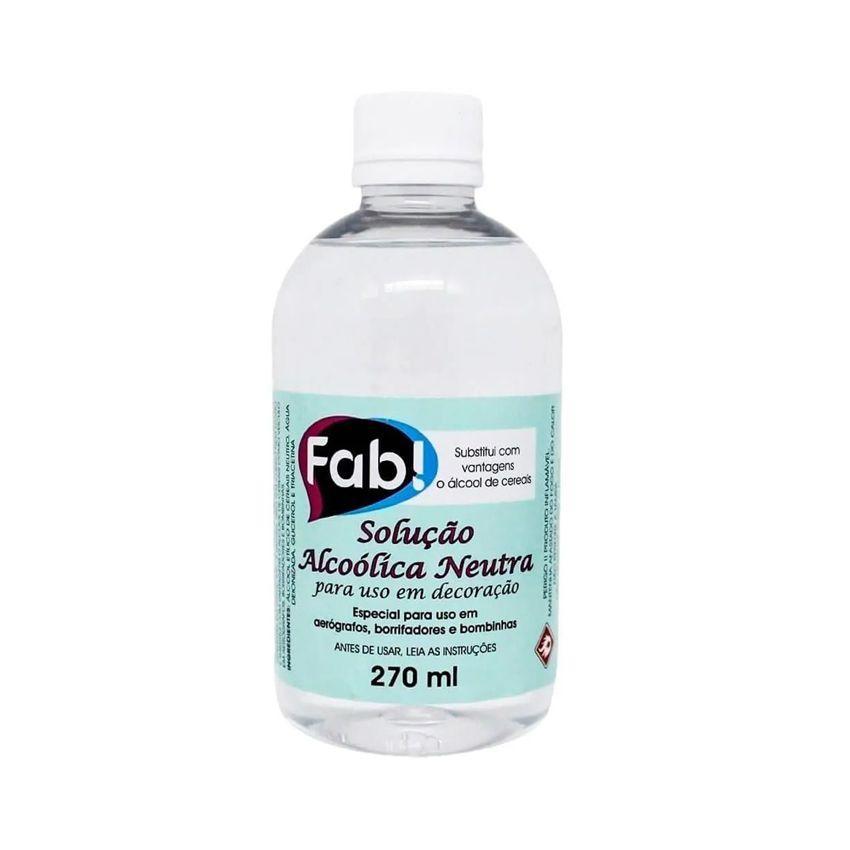 Solução Alcoólica Neutra 270 ml Fab
