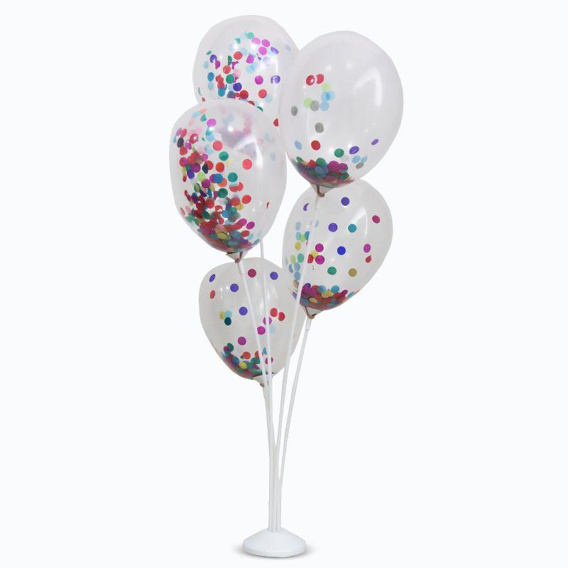 Suporte para Balões 5 Hastes 45cm KLF Festas